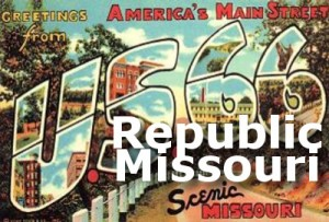 Route66MissouriPostcardrepublic