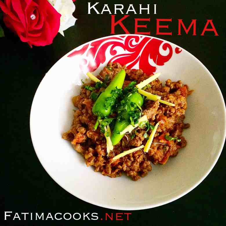 Karahi Keema - my most popular recipe so far!