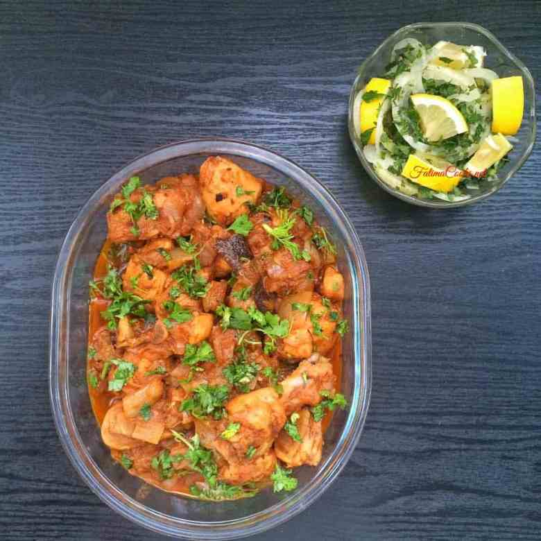 Chicken Dopiaza - Chicken Curry with lots of onion!