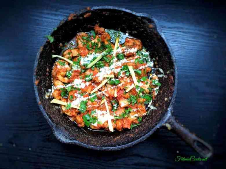 Recipe in Urdu - Malai Chicken Karahi