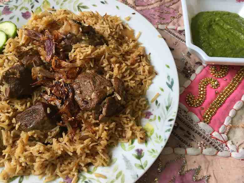 Lamb Pilau / Pulao - A One-Pot Pakistani Lamb Pilaf Recipe