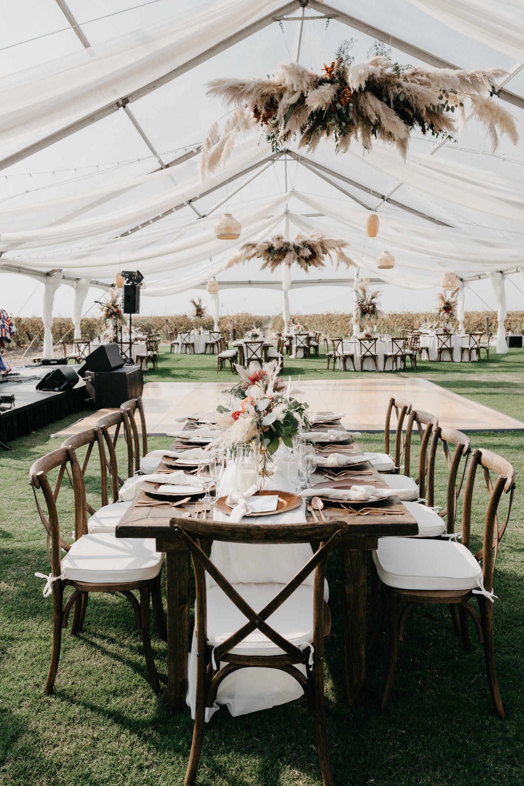Evanelle Vineyards Wedding, image by Fatima Elreda Photo