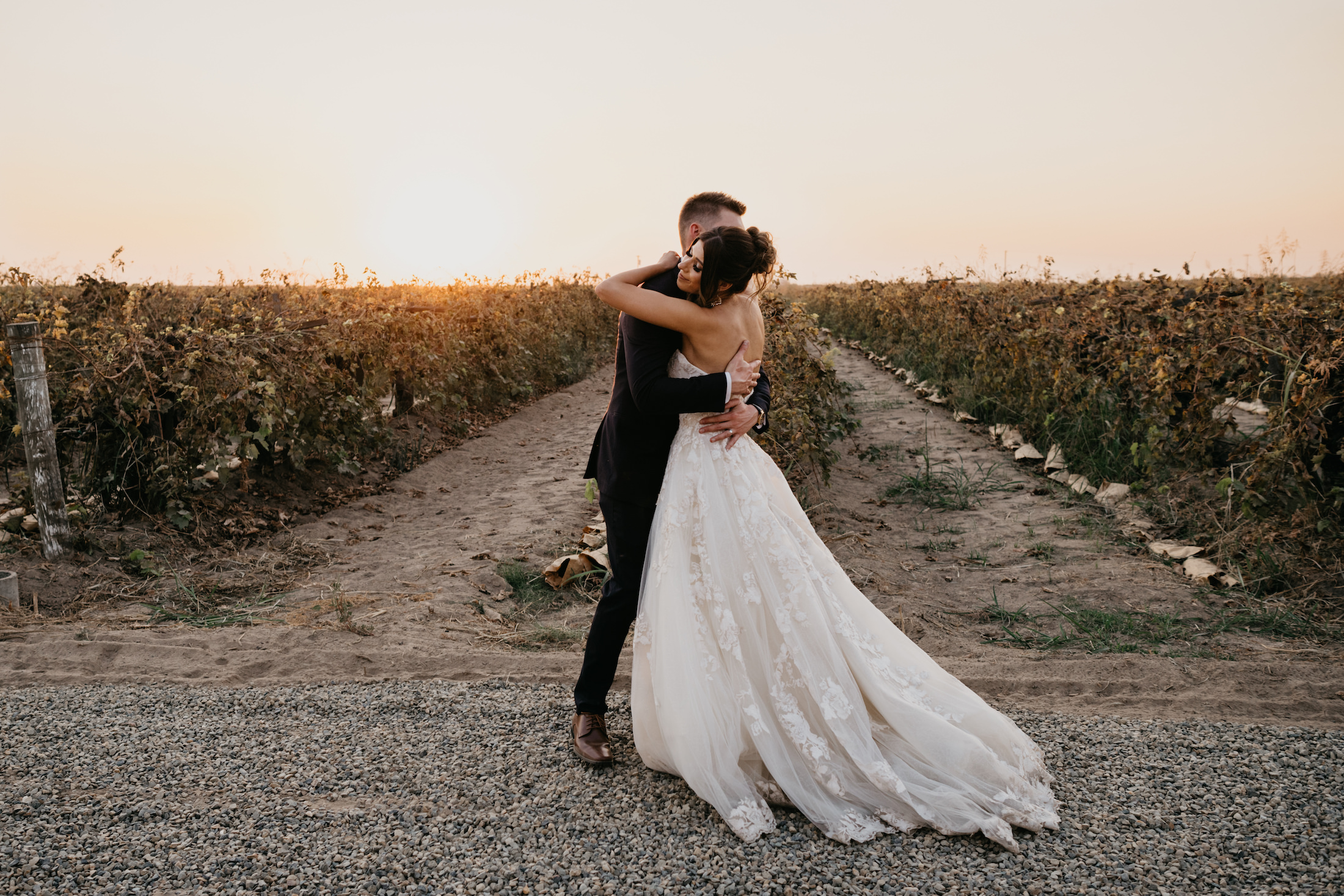 Evanelle Vineyards Wedding Bride and Groom Portraits, by Fatima Elreda Photo (393 of 590)