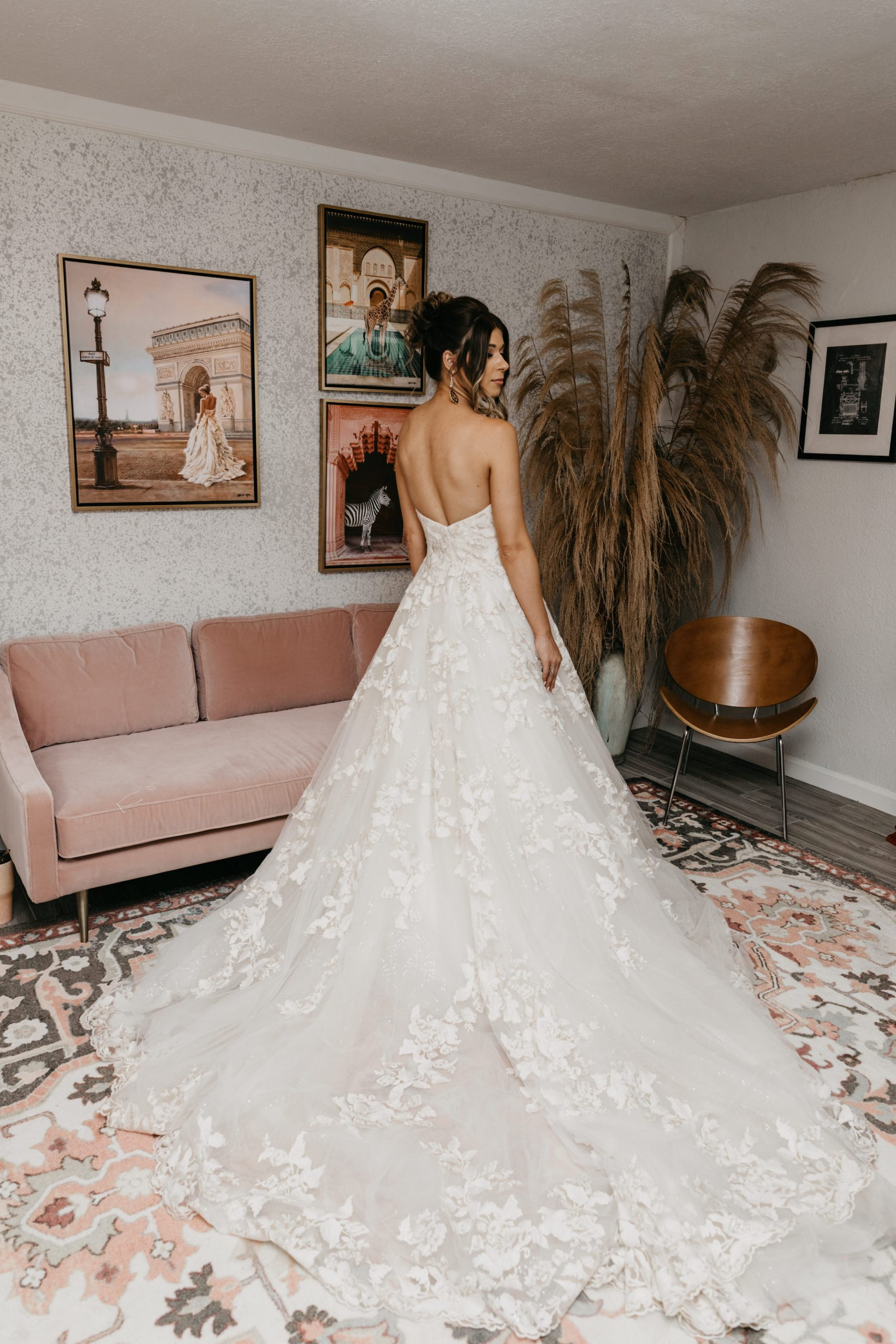 Evanelle Vineyards Wedding Bridal Suite, image by Fatima Elreda Photo