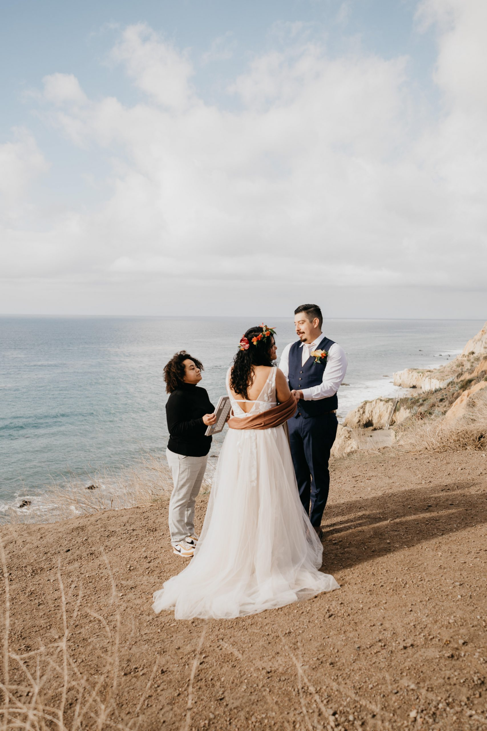 El Matador Beach Elopement, image by Fatima Elreda Photo