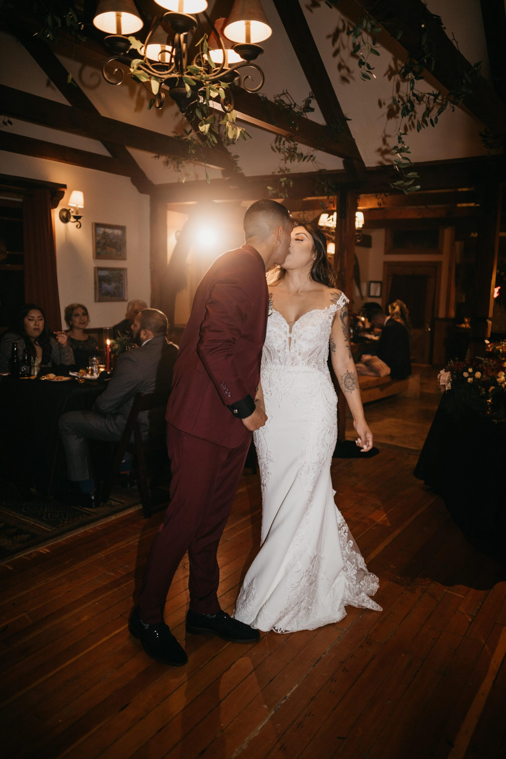 Bride and groom first dance, image by Fatima Elreda Photo