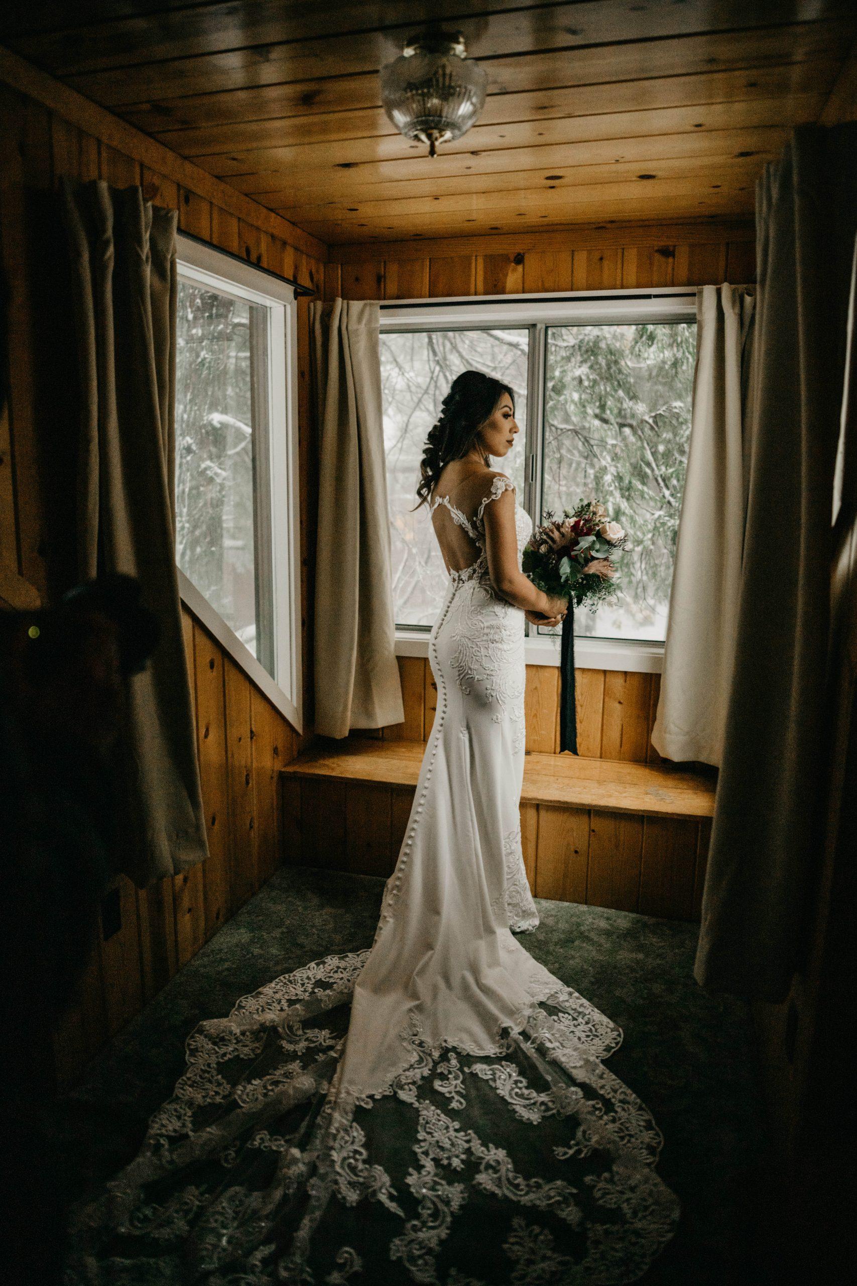 Beautiful Bride portrait, image by Fatima Elreda Photo