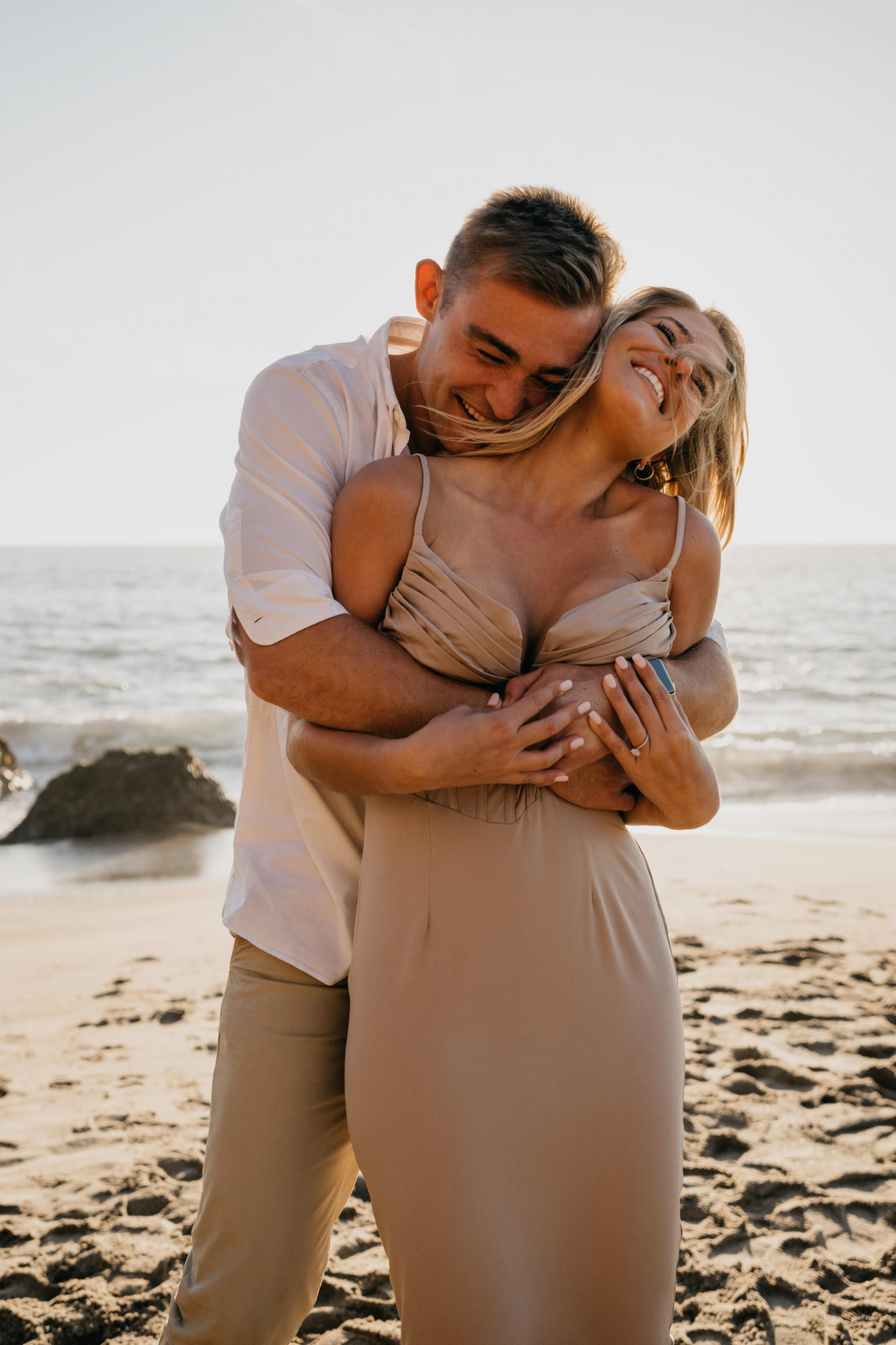 Point Dume Surprise Proposal, image by Fatima Elreda Photo
