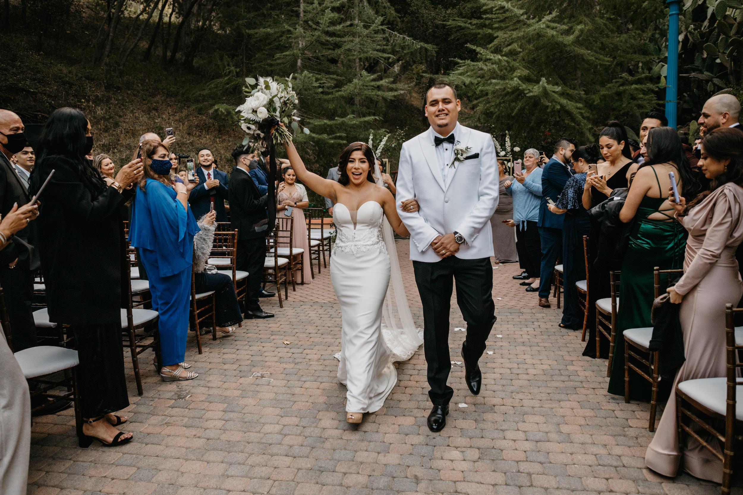 Rancho Las Lomas Wedding Ceremony, image by Fatima Elreda Photo