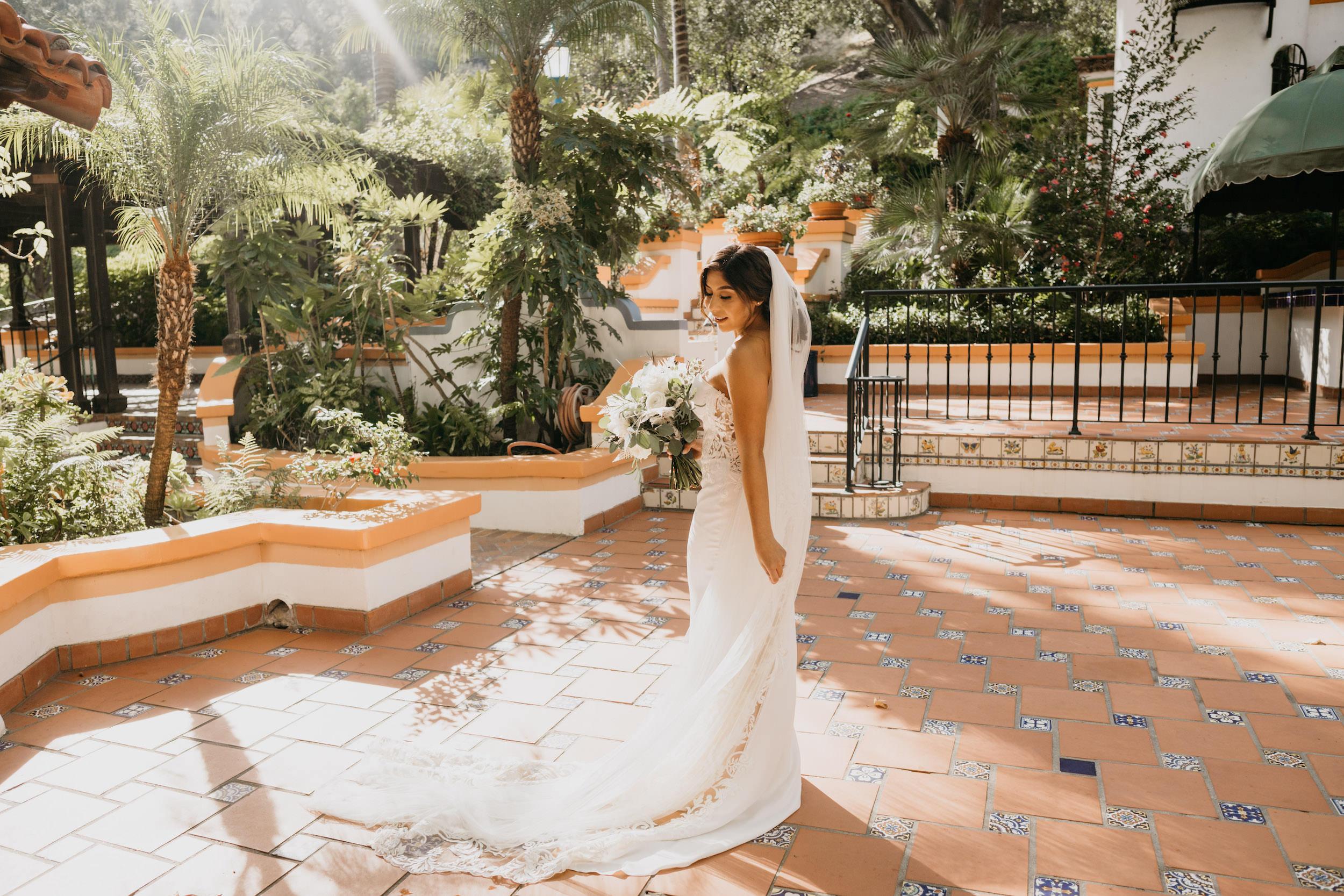 Bride Portrait in Rancho Las Lomas, image by Fatima Elreda Photo