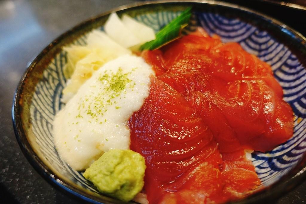 山藥鮪魚丼