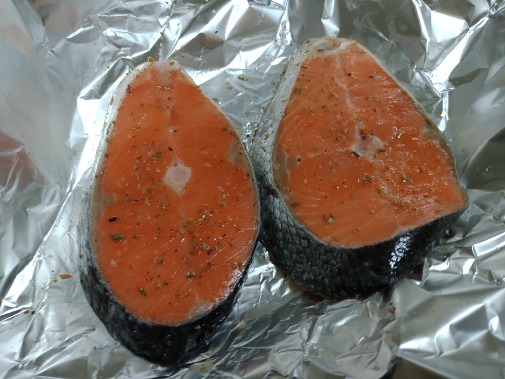 橙汁烤鮭魚食譜