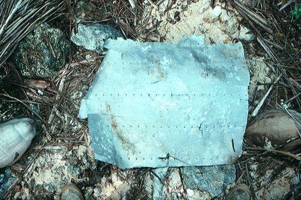 Pedaço de fuselagem de avião desaparecido há 77 anos vem à tona e pode ajudar a revelar mistério
