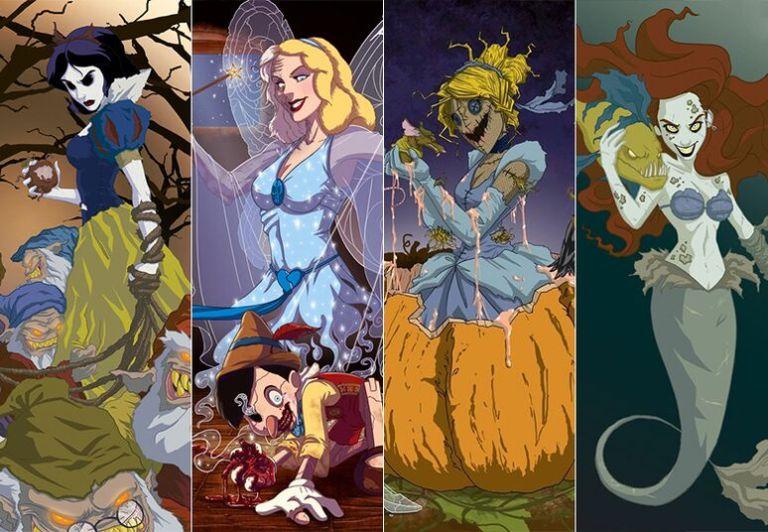 10 Origens Macabras dos Filmes da Disney