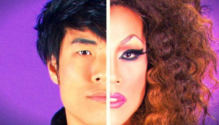 Homens são transformados em drag queens pela primeira vez. Confira o resultado!