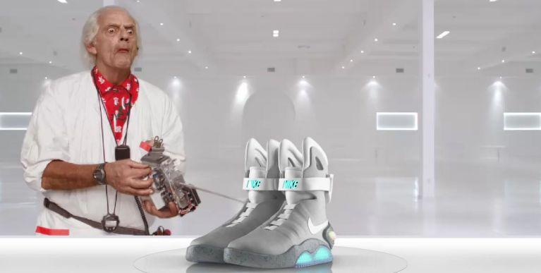 """Nike confirma tênis de """"De Volta Para o Futuro"""" para 2015"""