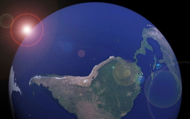 Por que nosso planeta se chama Terra se somos cobertos por quase 70% de água?