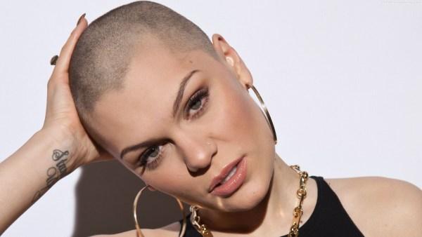 Jessie-J-Bald-Head-Images