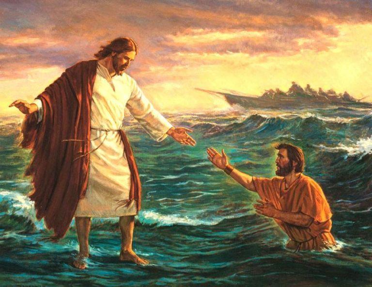Jesus realmente andou sobre as águas?