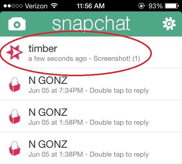 Aprenda a tirar uma screenshot no Snapchat sem a outra pessoa saber