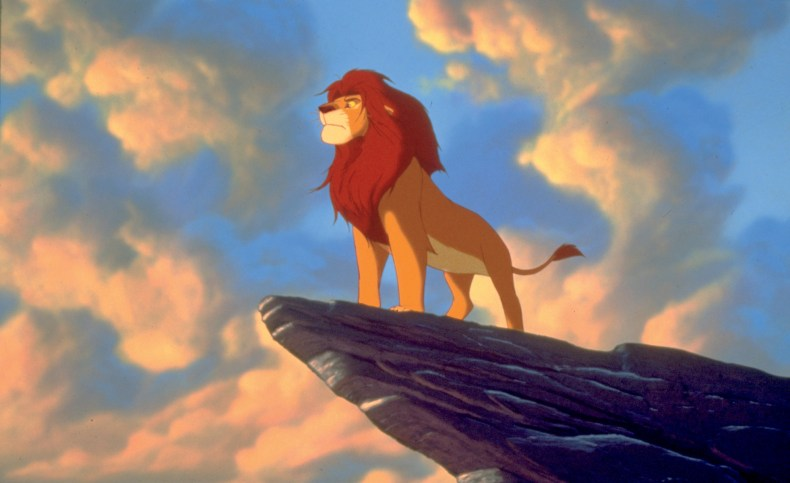 """""""THE LION KING"""" Mufasa ©Disney Enterprises, Inc.  All Rights Reserved."""