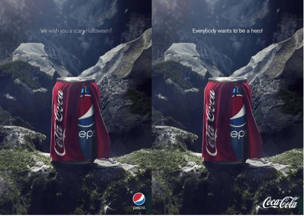 Coca Cola e Pepsi