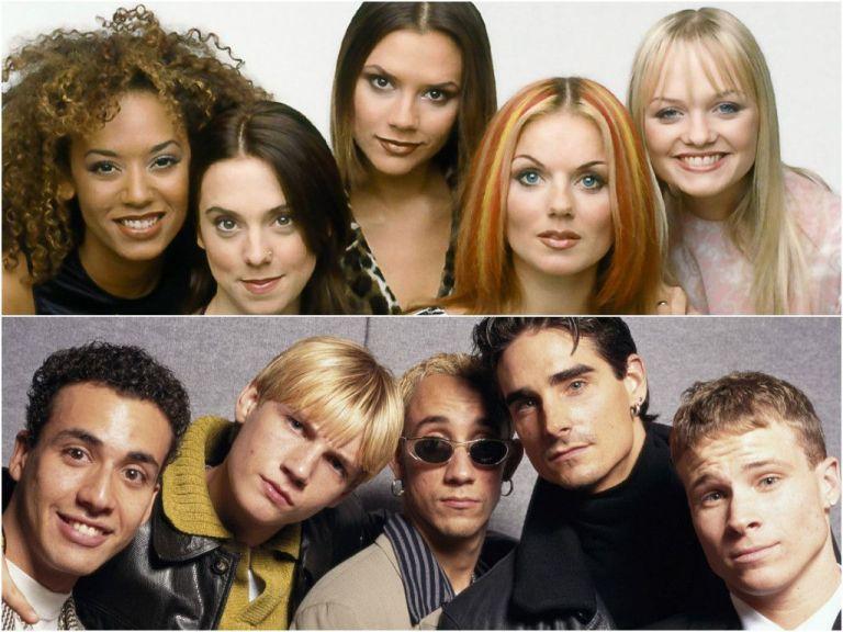 Como estão as Spice Girls e os Backstreet Boys?