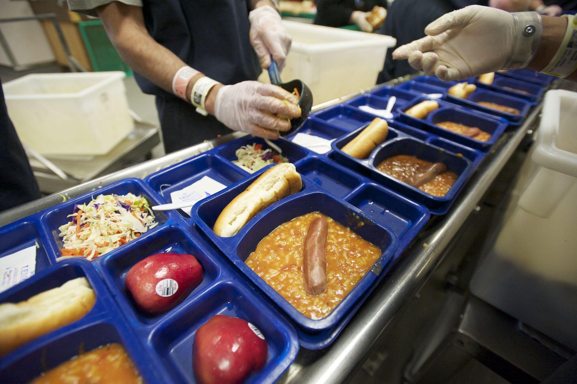 9 comidas de prisão de países ao redor do mundo