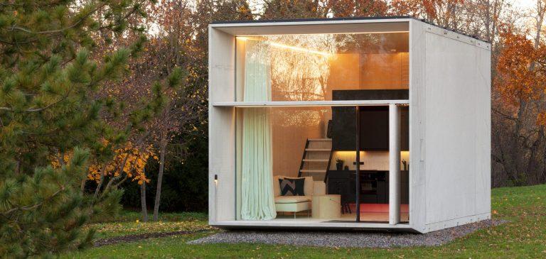 Como seria uma casa que pode ser construída em menos de um dia?