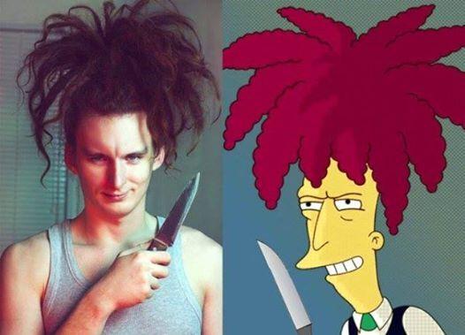 15 pessoas da vida real que são verdadeiras sósias dos personagens de os Simpsons