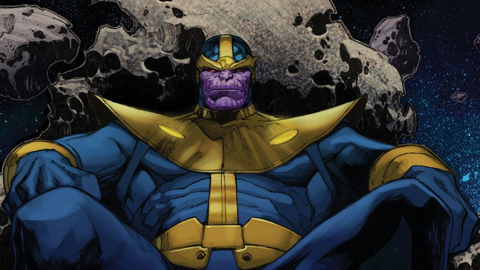Thanos tem uma nova namorada!