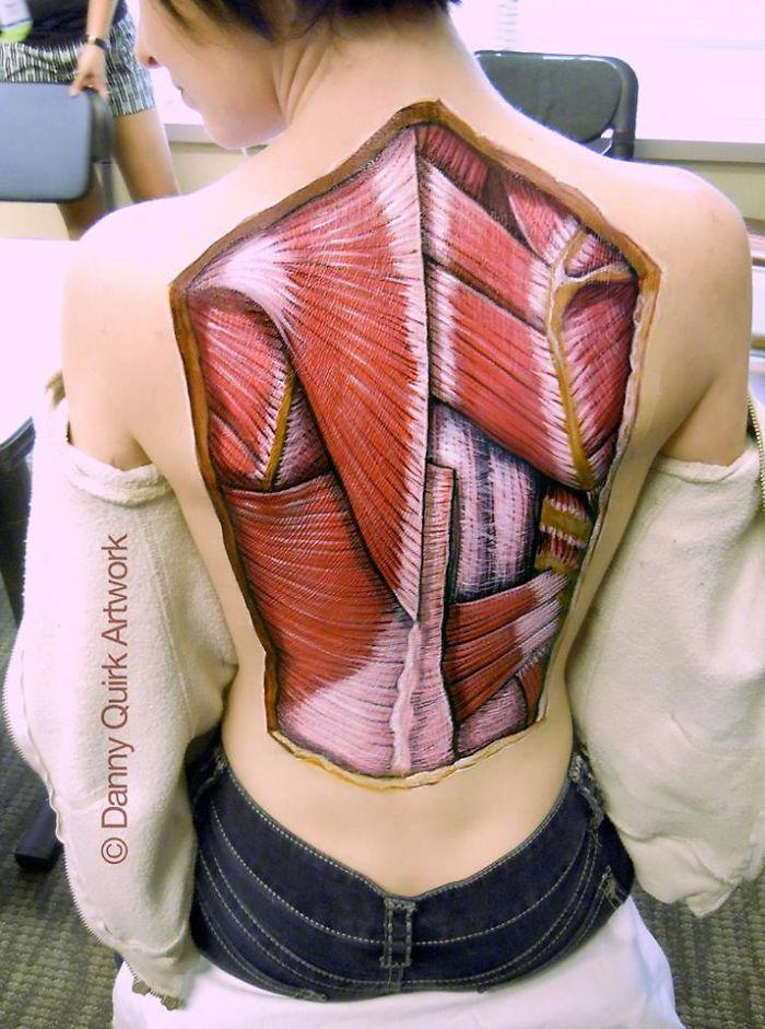 Anatomical Body Paintings Danny Quirk 22 58b7ce774e1a0  700, Fatos Desconhecidos