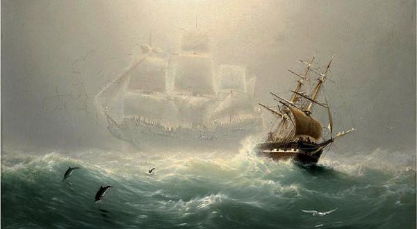 Há 250 anos as pessoas vêem este estranho navio fantasma navegando pelos mares