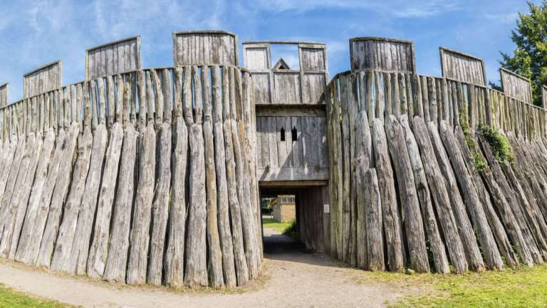 Uma incrível fortaleza viking acaba de ser descoberta na Dinamarca