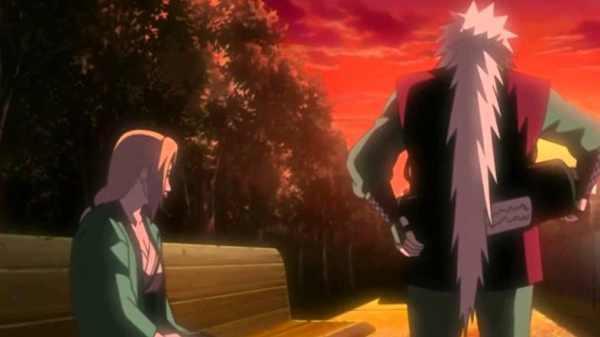 Naruto Tsunade And Jiraiya 600x337, Fatos Desconhecidos