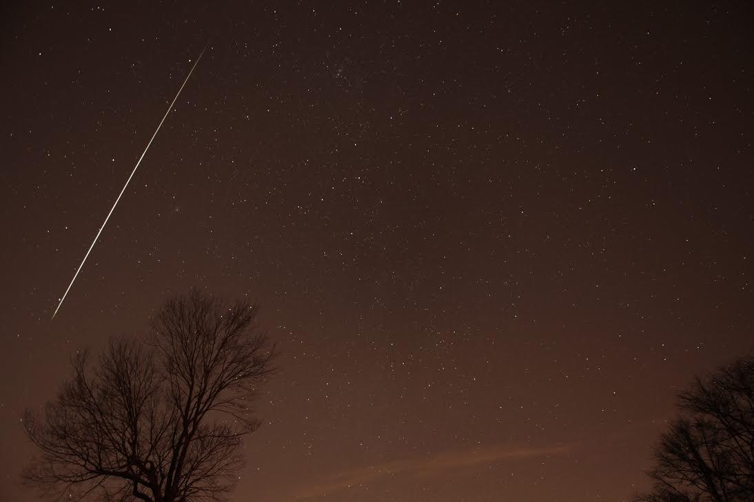 A última chuva de meteoros do ano poderá ser vista do Brasil todo