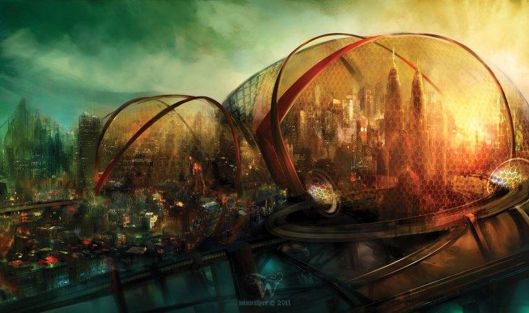 12 ilustrações que mostram como vai ser o mundo daqui algumas décadas
