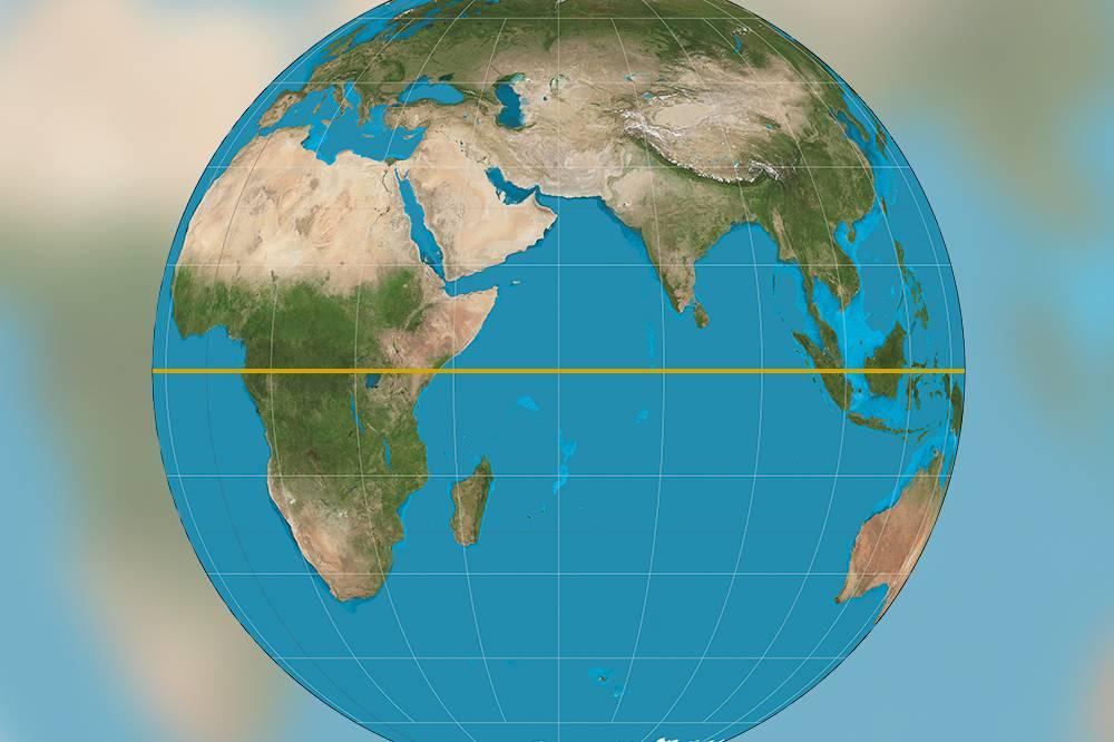 7 diferenças entre o hemisfério norte e o hemisfério sul
