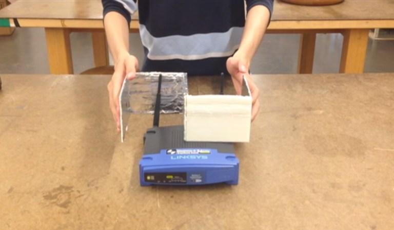 Você pode aumentar a velocidade do seu Wi-Fi com papel alumínio. Entenda como.