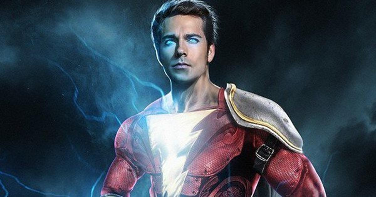 Shazam – Foto vazada dos bastidores revela visual do uniforme do herói