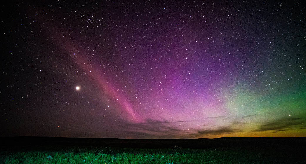 Um novo tipo de aurora foi descoberto e ela é roxa