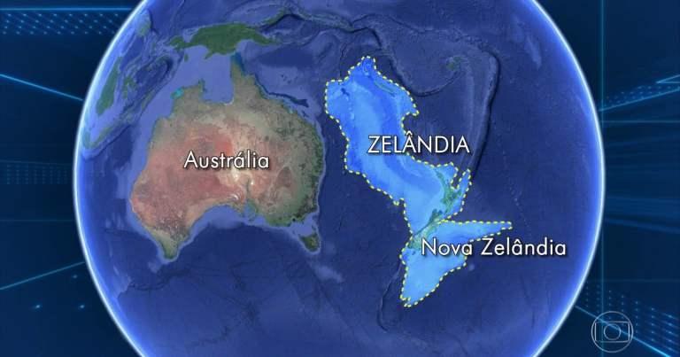 Conheça Zelândia, o continente submerso no Oceano Pacífico