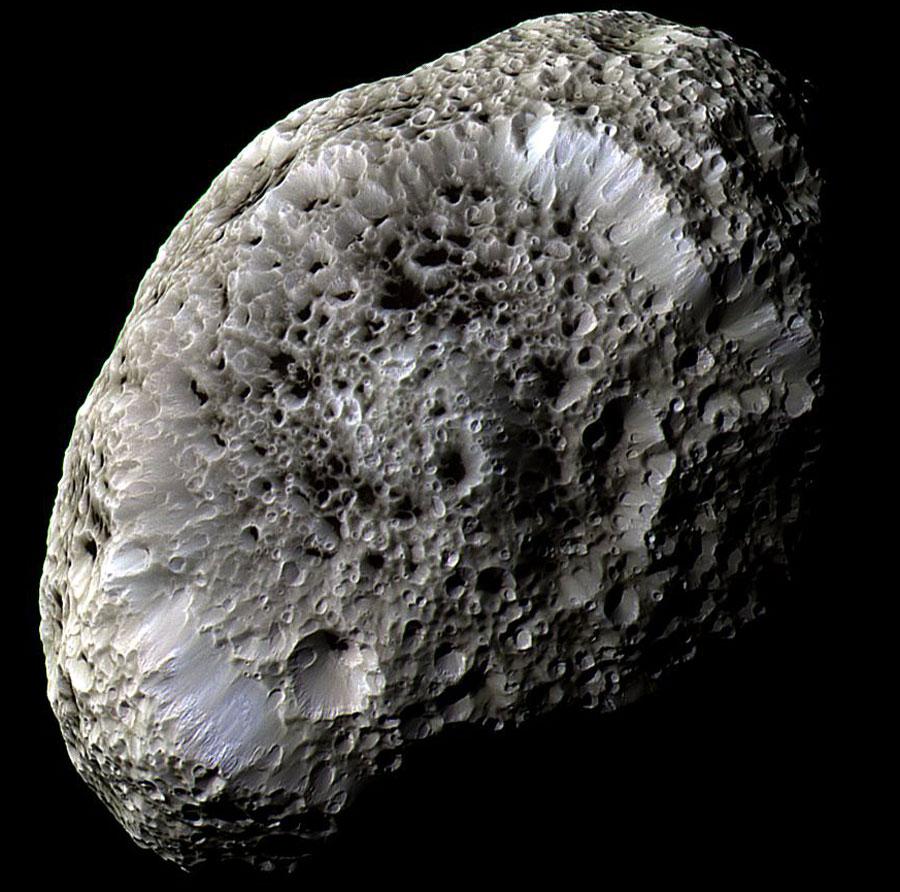 Hyperion3 Cassini 900, Fatos Desconhecidos