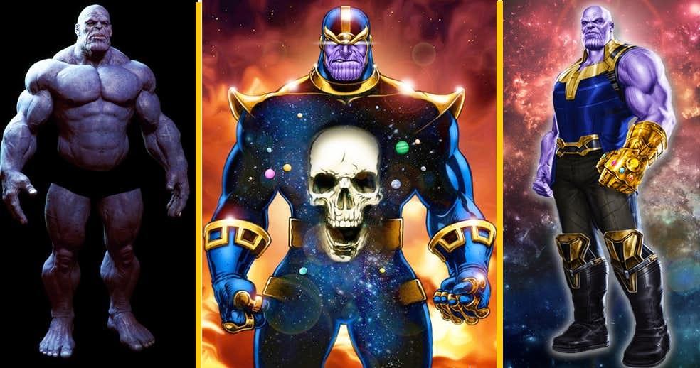 7 fatos bizarros que você não sabia sobre o corpo do Thanos