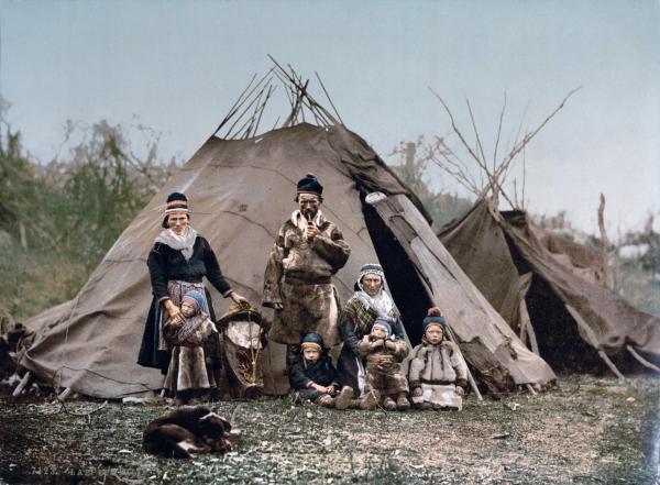 Saami Family 1900 600x441, Fatos Desconhecidos
