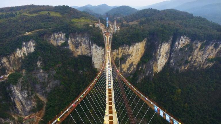 10 pontes assustadoras que você precisa ver para acreditar