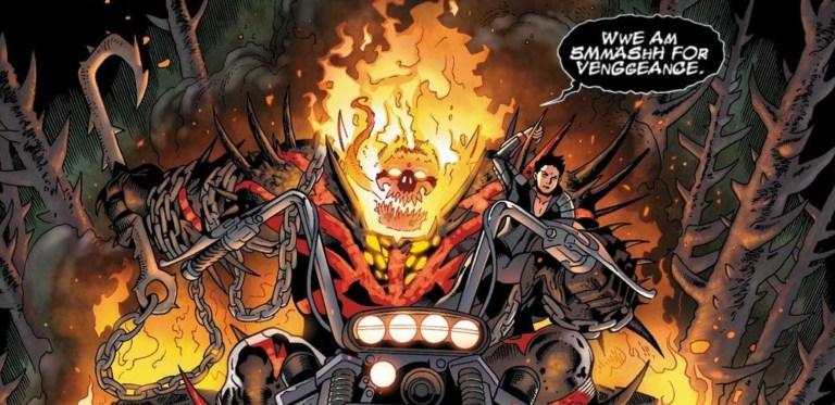 Hulk Vermelho, Venom e Motoqueiro Fantasma: A fusão mais apelona da Marvel que você precisa conhecer