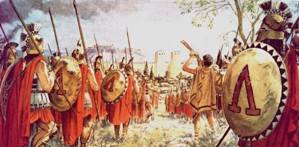 Guerra De Esparta E Atenas 600x296, Fatos Desconhecidos