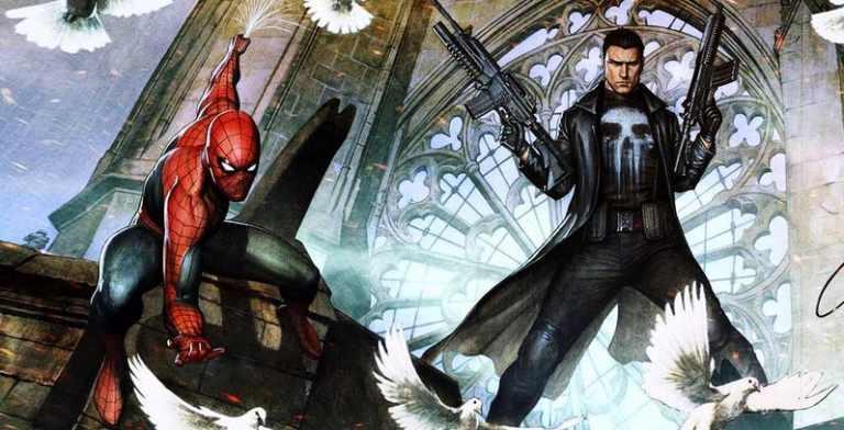 Marvel apresenta fusão do Homem-Aranha com o Justiceiro