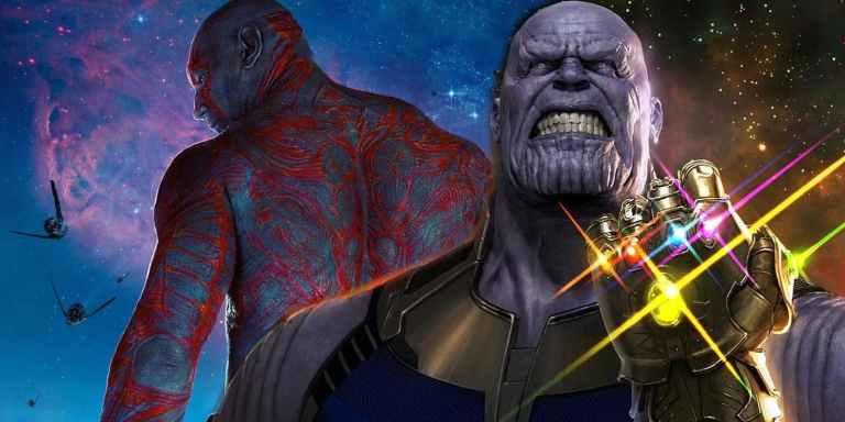 Revelado como Thanos matou a família de Drax